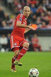 29.04.2014, Allianz Arena, Muenchen, GER, UEFA CL, FC Bayern Muenchen vs Real Madrid, Halbfinale, Ruckspiel, im Bild Arjen Robben (FC Bayern Muenchen) // during the UEFA Champions League Round of 4, 2nd Leg Match between FC Bayern Munich vs Real Madrid at the Allianz Arena in Muenchen, Germany on 2014/04/30. EXPA Pictures © 2014, PhotoCredit: EXPA/ Eibner-Pressefoto/ Stuetzle<br /> <br /> *****ATTENTION - OUT of GER*****