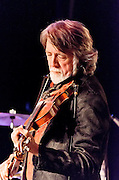 John McEuen on fiddle during the Nitty Gritty Dirt Band performance at the Landis Theater in Vineland, NJ.