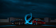 2019 Automotive Light Painting and Light Writing