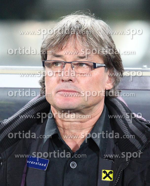 08.10.2010, Ernst Happel Stadion, Wien, AUT, UEFA 2012 Qualifier, Austria vs Aserbaidschan, im Bild Didi Constantini, (Team Austria, Headcoach) ,  EXPA Pictures © 2010, PhotoCredit: EXPA/ T. Haumer