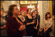 SOPHIE HANNAH, launch of Sophie Hannah's Agatha Christie ' The Monogram Murders ' at the Ritz London. 8 September 2014