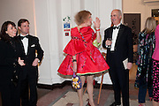 IAN PALMER; MONIQUE PALMER; GRAYSON PERRY; CHARLES SAUMERAZ SMITH, Royal Academy Schools Annual dinner and Auction 2012. Royal Academy. Burlington Gdns. London. 20 March 2012.