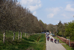 Trek Segafredo and Team Virtu Cycling lead the bunch on lap three at Healthy Ageing Tour 2019 - Stage 5, a 124.3 km road race in Midwolda, Netherlands on April 14, 2019. Photo by Sean Robinson/velofocus.com