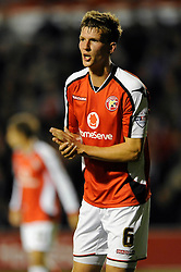 Walsall's Paul Downing - Photo mandatory by-line: Dougie Allward/JMP - Mobile: 07966 386802 26/08/2014 - SPORT - FOOTBALL - Walsall - Bescot Stadium - Walsall v Crystal Palace - Capital One Cup
