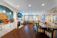 Interior image of Brightview Senior Living Community in Catonsville MD by Jeffrey Sauers of CPI Productions