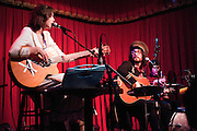 Sean Lennon and Charlotte Kemp Muhl - Ghost of a Saber Tooth Tiger - performing at the Cactus Cafe, Austin Texas, January 19, 2011.