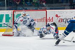 26.12.2018, Ice Rink, Znojmo, CZE, EBEL, HC Orli Znojmo vs Fehervar AV 19, 31. Runde, im Bild v.l. MacMillan Carruth (Fehervar AV19) Aron Sandor Reisz (Fehervar AV19) // during the Erste Bank Eishockey League 31th round match between HC Orli Znojmo and Fehervar AV 19 at the Ice Rink in Znojmo, Czechia on 2018/12/26. EXPA Pictures © 2018, PhotoCredit: EXPA/ Rostislav Pfeffer