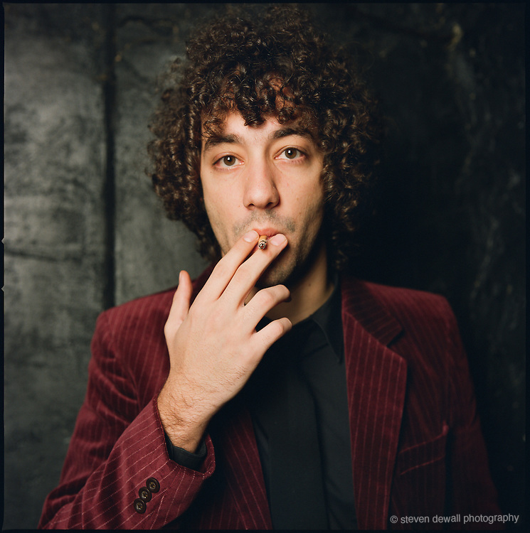 Albert Hammond, Jr.of the The Strokes at Lit Bar in Manhatten