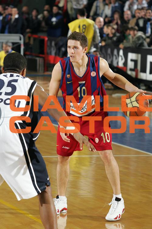 DESCRIZIONE : Napoli Eurolega 2006-07 Eldo Napoli Wintherthur FC Barcellona<br /> GIOCATORE : Lakovic<br /> SQUADRA : Wintherthur FC Barcellona<br /> EVENTO : Eurolega 2006-2007 <br /> GARA : Eldo Napoli Wintherthur FC Barcellona<br /> DATA : 11/01/2007 <br /> CATEGORIA : Palleggio<br /> SPORT : Pallacanestro <br /> AUTORE : Agenzia Ciamillo-Castoria/A. De Lise