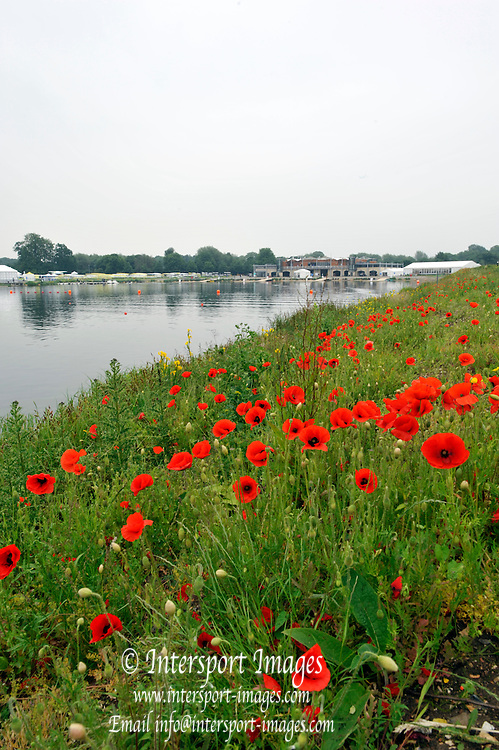 Eton Dorney, United Kingdom,  general Views, Poppy's and Boat House. Eton Rowing Centre. FISA World Cup II, Dorney Lake. Thursday  20/06/2013 Berkshire.  [Mandatory Credit Peter Spurrier/ Intersport Images]