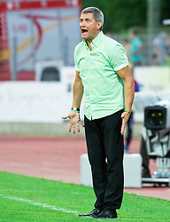 Marijan Pusnik, head coach of Olimpija during football match between ND Gorica and NK Olimpija Ljubljana in Round #10 of Prva liga Telekom Slovenije 2015/16, on September 19, 2015, in Sports park Gorica, Nova Gorica, Slovenia. Photo by Vid Ponikvar / Sportida