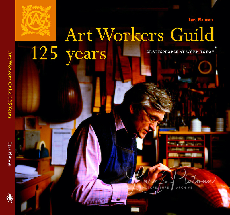 Art Workers Guild Cover Stephen Gottlieb Lute Maker