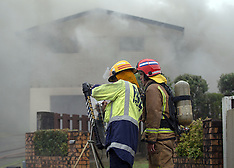 Tauranga-Fire crews at house fire in Hairini