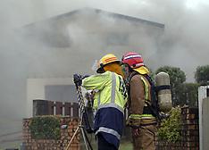 Tauranga-Fire crews at house fire in Hairini