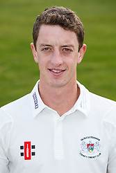 Will Tavare of Gloucestershire Cricket poses for a headshot in the County Championship kit - Mandatory byline: Rogan Thomson/JMP - 04/04/2016 - CRICKET - Bristol County Ground - Bristol, England - Gloucestershire County Cricket Club Media Day.