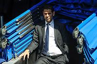 Real Madrid´s second coach Fernando Hierro during 2014-15 La Liga match between Real Madrid and Eibar at Santiago Bernabeu stadium in Madrid, Spain. April 11, 2015. (ALTERPHOTOS/Luis Fernandez)
