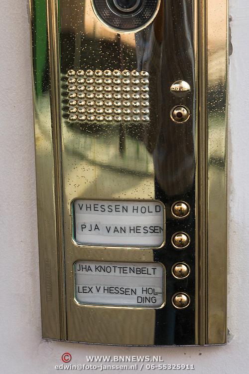 NLD/Den Haag/20130904 - Woning van Lex van Hessen en zijn partner, die gaat samenwonen met Tatjana Simic,