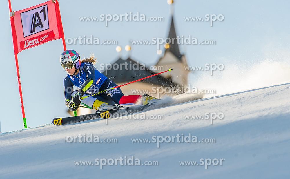 28.12.2015, Hochstein, Lienz, AUT, FIS Ski Weltcup, Lienz, Riesenslalom, Damen, 1. Durchgang, im Bild Marta Bassino (ITA) // Marta Bassino of Italy during 1st run of ladies Giant Slalom of the Lienz FIS Ski Alpine World Cup at the Hochstein in Lienz, Austria on 2015/12/28. EXPA Pictures © 2015, PhotoCredit: EXPA/ Michael Gruber