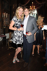 JODIE KIDD and THOMAS GEORGE at a party hosted by the Supper Club in honour of Mary Greenwell held at Beach Blanket Babylon, Ledbury Road, London on 25th June 2008.<br /><br />NON EXCLUSIVE - WORLD RIGHTS