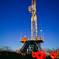 Drilling Rig, Permian Basin, West Texas