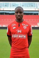 Dylan BAHAMBOULA during photoshooting of Dijon FCO for new season 2017/2018 on September 11, 2017 in Dijon, France. (Photo by Vincent Poyer/Icon Sport)