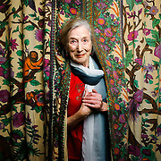 California poet laureate Allegra Silberstein, 80, at home in Davis, California.