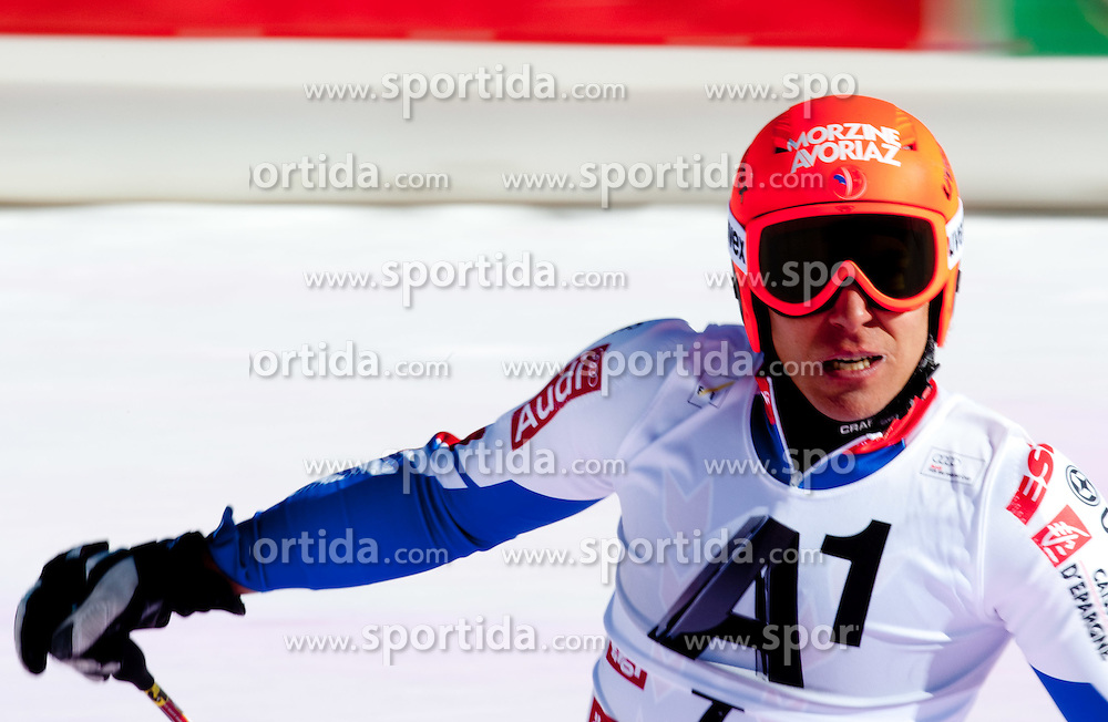 23.10.2011, Rettenbachferner, Soelden, AUT, FIS World Cup Ski Alpin, Herren, Riesenslalom, im Bild Cyprien Richard (FRA) // during Mens ginat Slalom at FIS Worldcup Ski Alpin at the Rettenbachferner in Solden on 23/10/2011. EXPA Pictures © 2011, PhotoCredit: EXPA/ Johann Groder