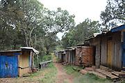 A street in the town of Nyahururu, Kenya