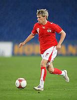 Fussball International Laenderspiel Oesterreich - Venezuela Christoph Leitgeb (AUT)