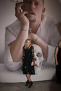 DONNA AIR, Vogue100 A Century of Style. Hosted by Alexandra Shulman and Leon Max. National Portrait Gallery. London. WC2. 9 February 2016.