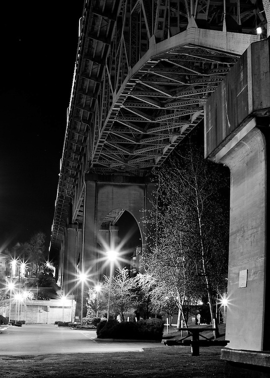 Commercial Photography by Pettepiece Photography, Olympia, Tacoma, Seattle. Ballard Bridge.
