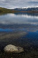 Reflection of the sky in Wonder Lake; Denali National Park; Alaska