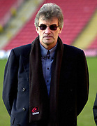 Photo - Peter Spurrier.12/01/2003.Parker Pen Shield European Rugby - Saracens v Newcastle. Simon Wray Saracens owner right
