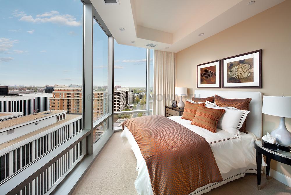 1881_Nash_2202_Turnberry_Tower 1881 Nash, Arlington, Virginia Turnberry Tower condominiums Master Bedroom