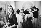 Francesca Guglielmind. Gigi Letts 21st May fair Hotel. Crystal room 7.2.86© Copyright Photograph by Dafydd Jones 66 Stockwell Park Rd. London SW9 0DA Tel 020 7733 0108 www.dafjones.com