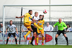 Corby Town v Basford  Ltd, EVO Stick Northern Premier Division 1 South, Steel Park Saturday 26th August 2017 Score 1-4<br /> Photo:Mike Capps/kappasport.co.ukCorby Town v Basford  Ltd, EVO Stick Northern Premier Division 1 South, Steel Park Saturday 26th August 2017 <br /> Photo:Mike Capps/kappasport.co.uk