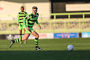 Forest Green Rovers Charlie Cooper(20) runs forward during the Vanarama National League match between Forest Green Rovers and Braintree Town at the New Lawn, Forest Green, United Kingdom on 21 January 2017. Photo by Shane Healey.