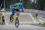 #368 (CALOZ Amaelle) SUI at Round 6 of the 2018 UCI BMX Superscross World Cup in Zolder, Belgium