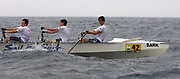 St Peter's Port, Guernsey, CHANNEL ISLANDS,  Oceans Four from Guernsey RC, Rides across the waves during the first leg of the 2006 FISA World Coastal Rowing  Rowing Challenge,  03/09/2006.  Photo  Peter Spurrier, © Intersport Images,  Tel +44 [0] 7973 819 551,  email images@intersport-images.com
