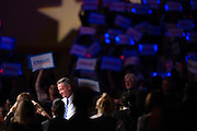 Democratic presidential candidate Martin O'Malley speaks during the 2015 Jefferson-Jackson Dinner with fellow candidates Hillary Clinton and Bernie Sanders in Des Moines, Iowa, October 24, 2015. REUTERS/Scott Morgan
