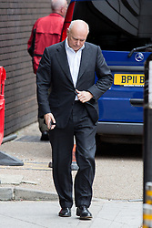 © Licensed to London News Pictures. 10/07/2016. London, UK. Former Secretary of State for Work and Pensions IAIN DUNCAN SMITH leaves the ITV Studios after speaking on the Peston on Sunday show today (10 July 2016). Photo credit : Tom Nicholson/LNP