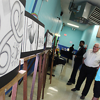 Shape and still life projects were among the subjects represented at Aberdeen's art show.