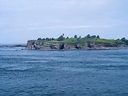 Daytime image of Tatoosh Island off of Cape Flattery, on the Makah Indian Reservation, Washington, USA.