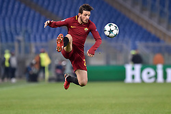 December 5, 2017 - Rome, Italy - Alessandro Florenzi of Roma during the UEFA Champions League match between Roma and Qarabag at Stadio Olimpico, Rome, Italy on 5 December 2017  (Credit Image: © Giuseppe Maffia/NurPhoto via ZUMA Press)