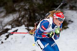 Gabriela Soukalova (CZE) during Women 12.5 km Mass Start at day 4 of IBU Biathlon World Cup 2015/16 Pokljuka, on December 20, 2015 in Rudno polje, Pokljuka, Slovenia. Photo by Urban Urbanc / Sportida