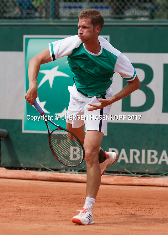 FLORIAN MAYER (GER)<br /> <br /> Tennis - French Open 2017 - Grand Slam ATP / WTA -  Roland Garros - Paris -  - France  - 28 May 2017.