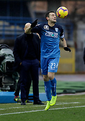 03.02.2019, Stadio Carlo Castellani, Empoli, ITA, Serie A, Empoli FC vs Chievo Verona, 22. Runde, im Bild Manuel Pasqual // Manuel Pasqual during the Seria A 22th round match between Empoli FC and Chievo Verona at the Stadio Carlo Castellani in Empoli, Italy on 2019/02/03. EXPA Pictures &copy; 2019, PhotoCredit: EXPA/ laPresse/ Marco Bucco<br /> <br /> *****ATTENTION - for AUT, SUI, CRO, SLO only*****