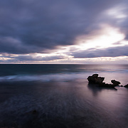 St Pauls Beach on the Mornington Peninsula at last light.