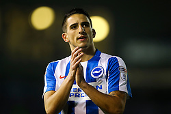 Anthony Knockaert of Brighton & Hove Albion applauds the Brighton & Hove Albion fans - Mandatory by-line: Jason Brown/JMP - 10/03/2017 - FOOTBALL - Amex Stadium - Brighton, England - Brighton and Hove Albion v Derby County - Sky Bet Championship