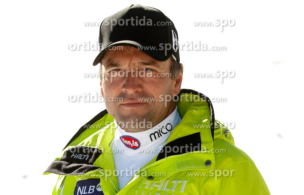 Coach Burkhard Schaffer during media day of Slovenian Alpine Ski team on October 17, 2011, in Rudno polje, Pokljuka, Slovenia. (Photo by Vid Ponikvar / Sportida)
